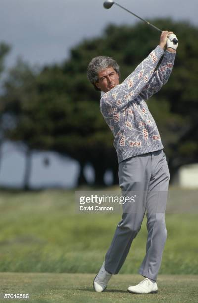 John O'Leary of Ireland in action during the Irish Open held on June 25 1989 in Portmarnock Dublin Ireland