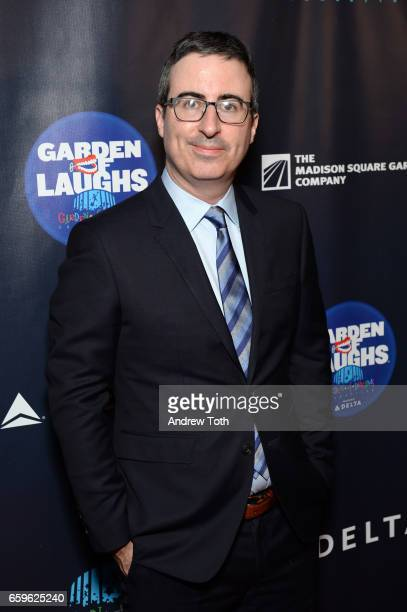 John Oliver attends the 2017 Garden of Laughs at Madison Square Garden on March 28 2017 in New York City