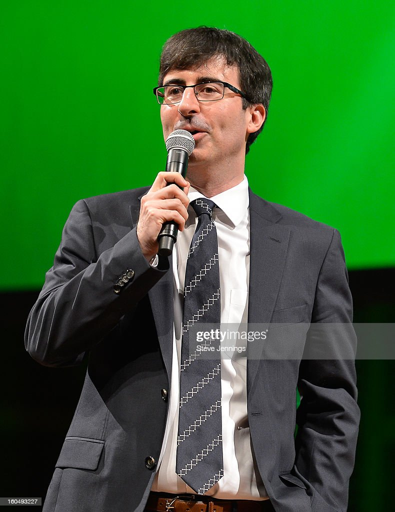 John Oliver kicks off the show at the 6th Annual Crunchies Awards at Davies Symphony Hall on January 31, 2013 in San Francisco, California.