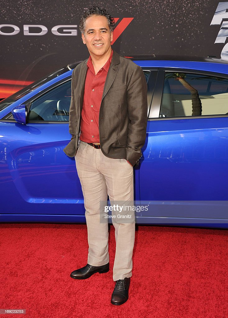 John Ortiz arrives at the 'Fast & The Furious 6' - Los Angeles Premiere at Gibson Amphitheatre on May 21, 2013 in Universal City, California.