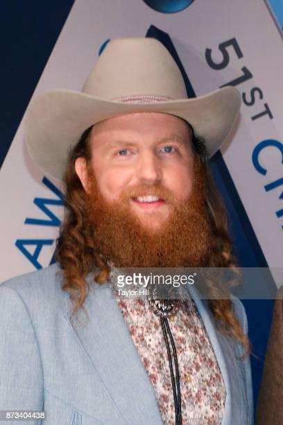 John Osborne attends the 51st annual CMA Awards at the Bridgestone Arena on November 8 2017 in Nashville Tennessee