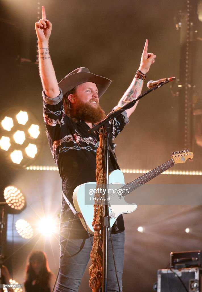 John Osborne of Brothers Osborne performs during day 4 of the 2017 CMA Music Festival on June 11, 2017 in Nashville, Tennessee.