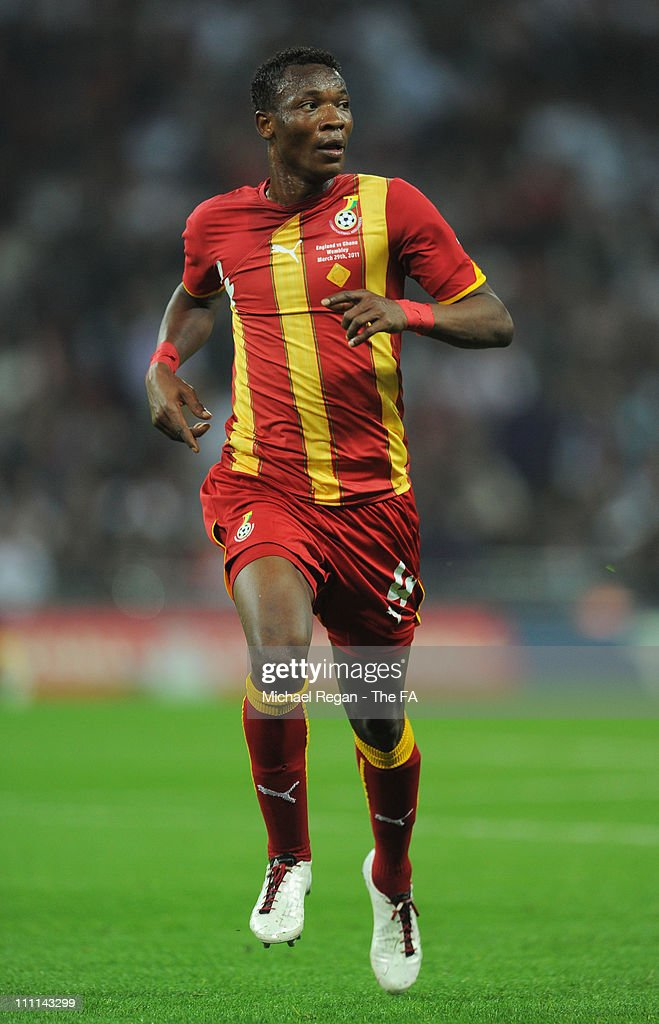 John Pantsil of Ghana in action during the international friendly match between England and Ghana at Wembley Stadium on March 29, 2011 in London, England.