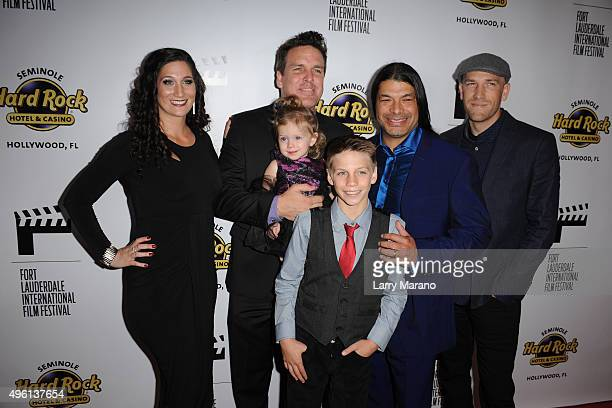 John Pastorius Robert Trujillo Paul Marchand and the Pastorius family attend the Fort Lauderdale International Film Festival Opening Night at...
