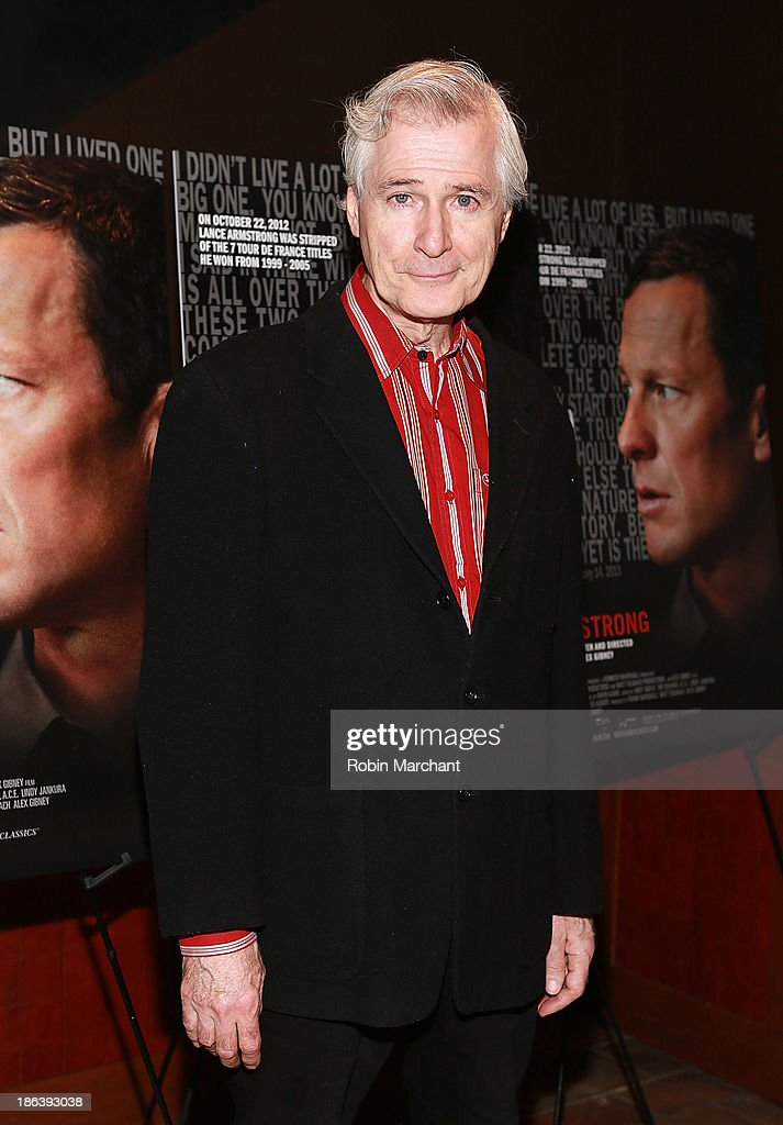 <a gi-track='captionPersonalityLinkClicked' href=/galleries/search?phrase=John+Patrick+Shanley&family=editorial&specificpeople=213726 ng-click='$event.stopPropagation()'>John Patrick Shanley</a> attends 'The Armstrong Lie' New York premiere at Tribeca Grand Hotel on October 30, 2013 in New York City.