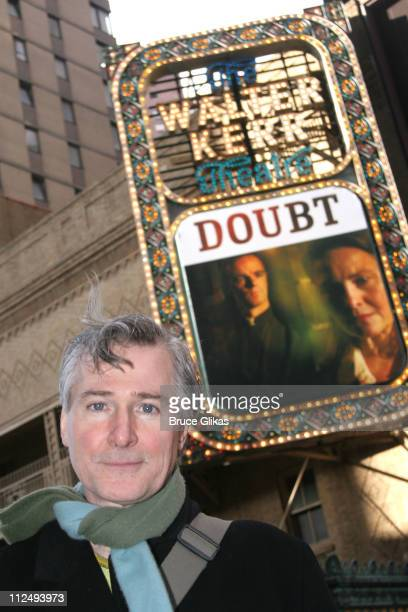 doubt by john patrick shanley On march 9, 2017, john patrick shanley, the author of doubt: a parable, granted  an exclusive interview to the quotidian theatre company.