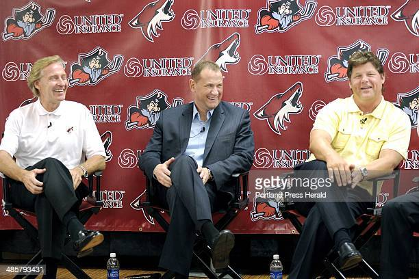 John Patriquin/Staff PhotographerThursday July 2011 The Portland Pirates hold a press conference to welcome new members to the team from the Phoenix...