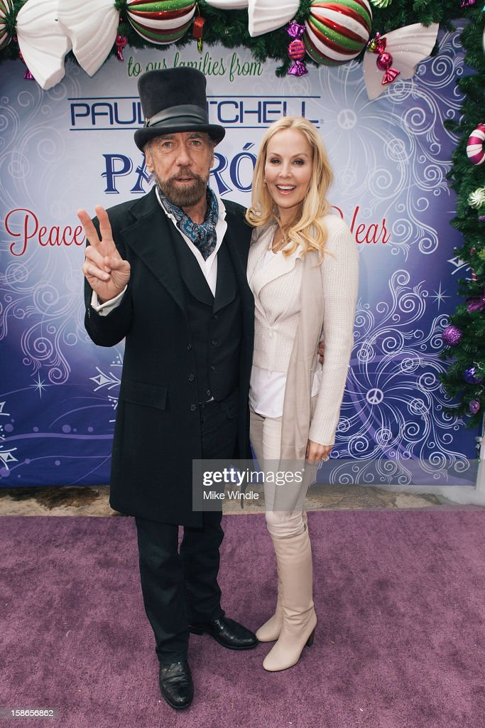 Patron Tequila And Paul Mitchell Founder John Paul DeJoria's Annual Winter Wonderland Holiday Party