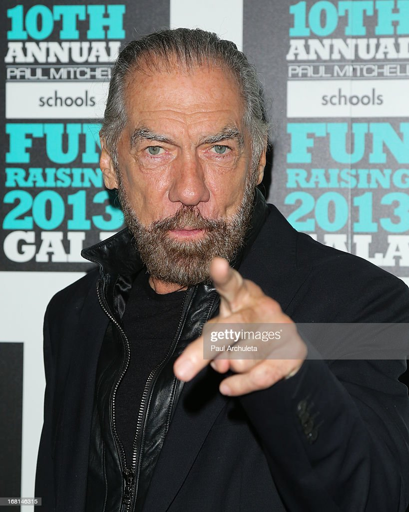 <a gi-track='captionPersonalityLinkClicked' href=/galleries/search?phrase=John+Paul+DeJoria&family=editorial&specificpeople=228016 ng-click='$event.stopPropagation()'>John Paul DeJoria</a> attends the Paul Mitchell schools' 'FUNraising Campaign' gala at The Beverly Hilton Hotel on May 5, 2013 in Beverly Hills, California.