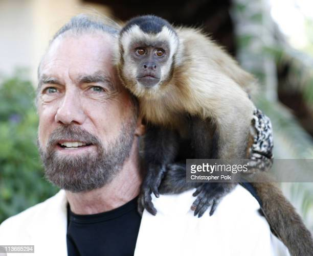 John Paul DeJoria during Bow Wow Ciao Benefit For 'Much Love' Animal Rescue Red Carpet and Inside at John Paul DeJoria and Eloise DeJoria Estate in...