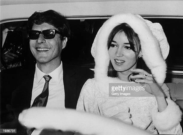 John Paul Getty Jr the son of petroleum multimillionaire John Paul Getty and his second wife Talitha Pol are shown on December 10 1966 after their...