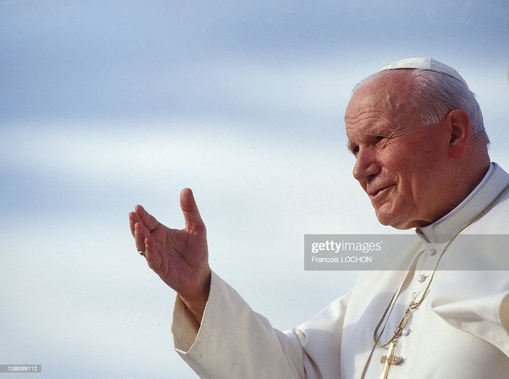 John Paul II in Papua, Indonesia in January,1995.