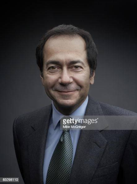 John Paulson head fund manager poses at a portrait session for Institutional Investor Magazine on April 8 2008 in New York City COVER IMAGE