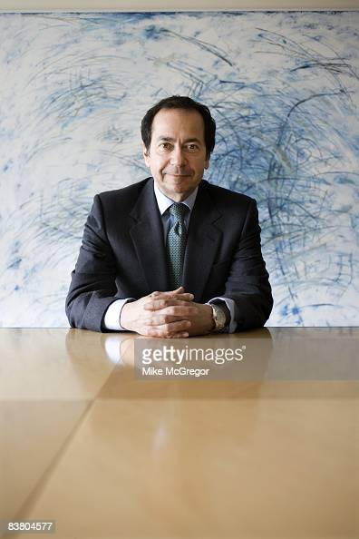 John Paulson head fund manager poses at a portrait session for Institutional Investor Magazine on April 8 2008 in New York City PUBLISHED IMAGE