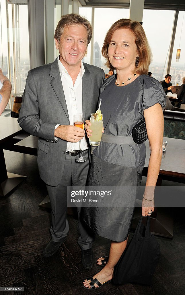 <a gi-track='captionPersonalityLinkClicked' href=/galleries/search?phrase=John+Pawson&family=editorial&specificpeople=2323951 ng-click='$event.stopPropagation()'>John Pawson</a> (L) and Catherine Pawson attend the London Design Festival dinner hosted by Ben Evans at Aqua Shard on July 23, 2013 in London, England.