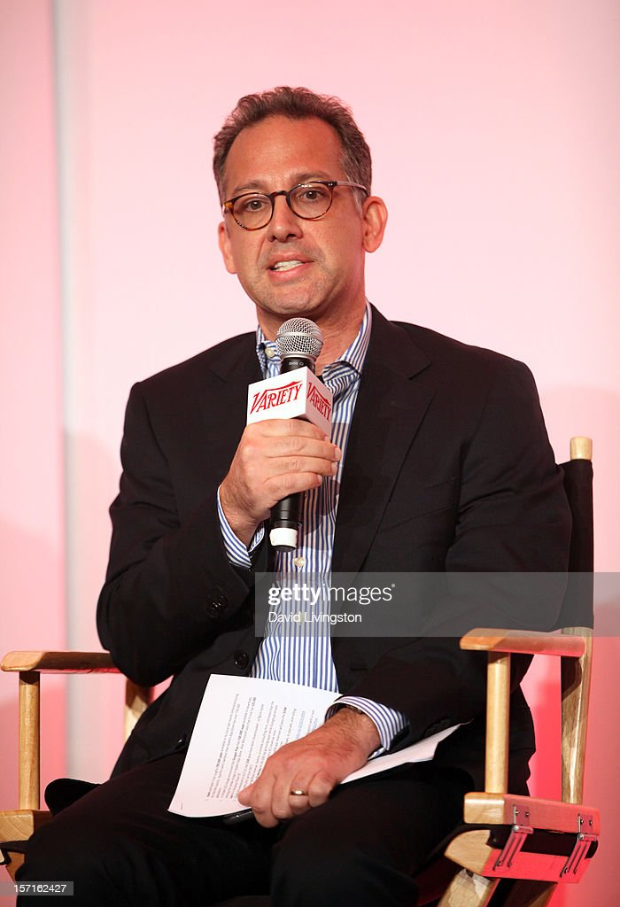 John Penney, EVP, Strategy, Starz, speaks at the State of the Industry: Apps and The Entertainment Economy panel at Variety's Entertainment Apps Conference in Association with Application Developers Alliance at Sheraton Hotel on November 29, 2012 in Universal City, California.