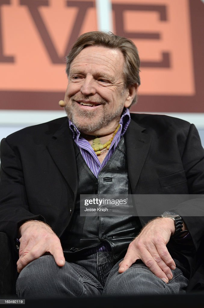 John Perry Barlow, Co-Founder Electronic Frontier Foundation speaks onstage at The New Serendipity? during the 2013 SXSW Music, Film + Interactive Festival at Austin Convention Center on March 10, 2013 in Austin, Texas.