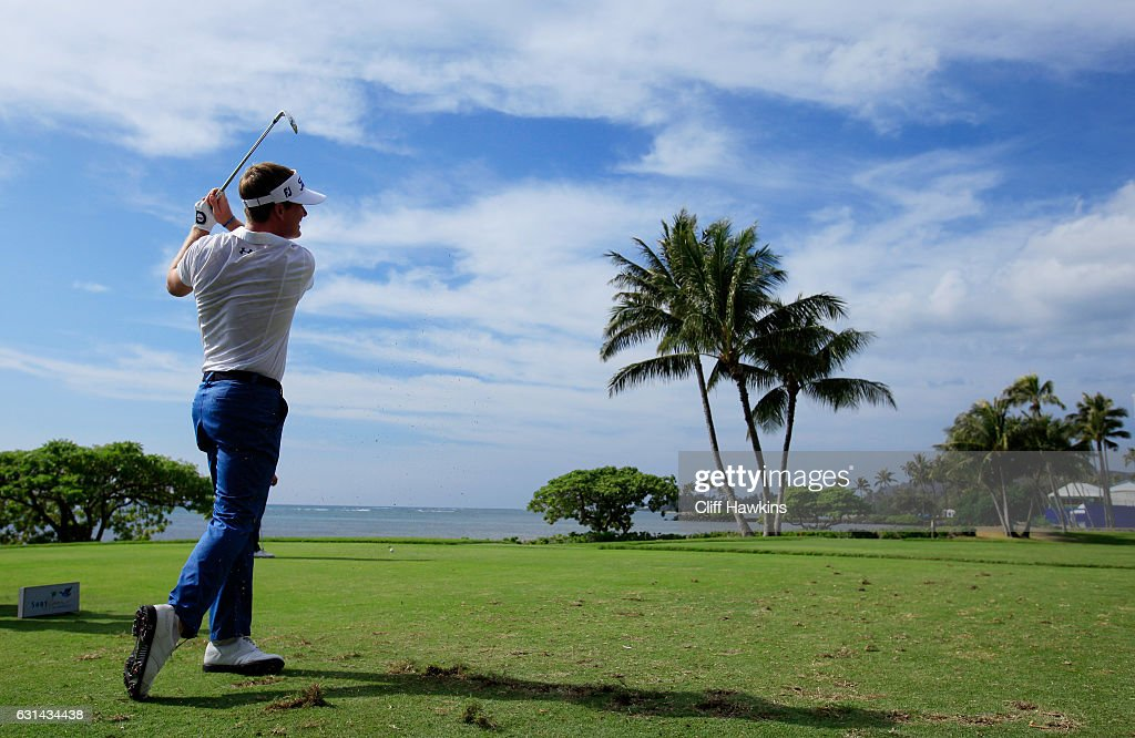 John Peterson of the United States plays a shot during practice rounds prior to the Sony Open In Hawaii at Waialae Country Club on January 10, 2017 in Honolulu, Hawaii.