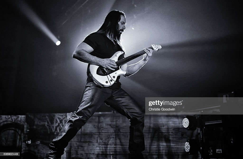 John Petrucci of Dream Theater performs at Wembley Arena on February 14, 2014 in London, England.
