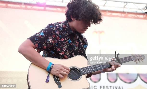 John Pita of City of the Sun performs during Day Two of 2017 Billboard Hot 100 Festival at Northwell Health at Jones Beach Theater on August 20 2017...