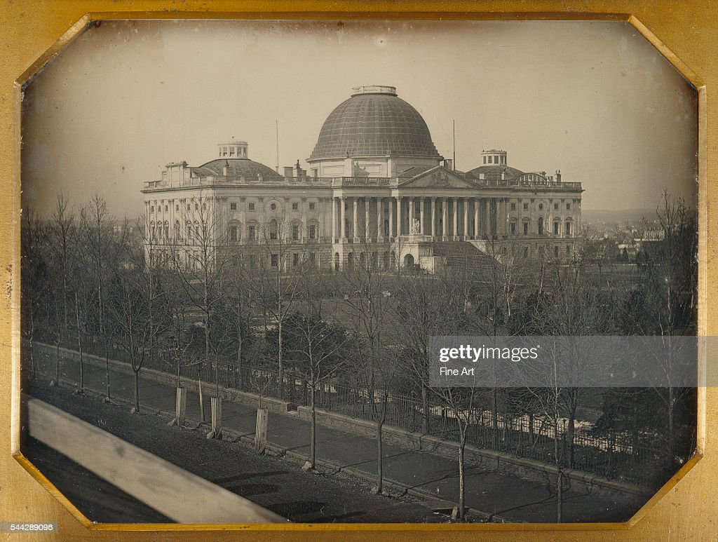John Plumbe Jr The United States Capitol daguerreotype 1/2 plate 89 x 119 cm The J Paul Getty Museum Los Angeles