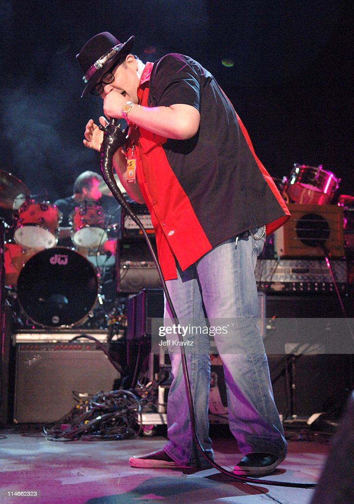 John Popper of Blues Traveler during 6th Annual Jammy Awards - Show and Backstage at The Theater at Madison Square Garden in New York City, New York, United States.