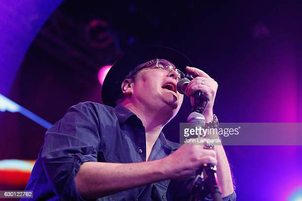 John Popper of Blues Traveler performs during the 2016 Wall Street Rocks for our Heroes at Highline Ballroom on December 16 2016 in New York City