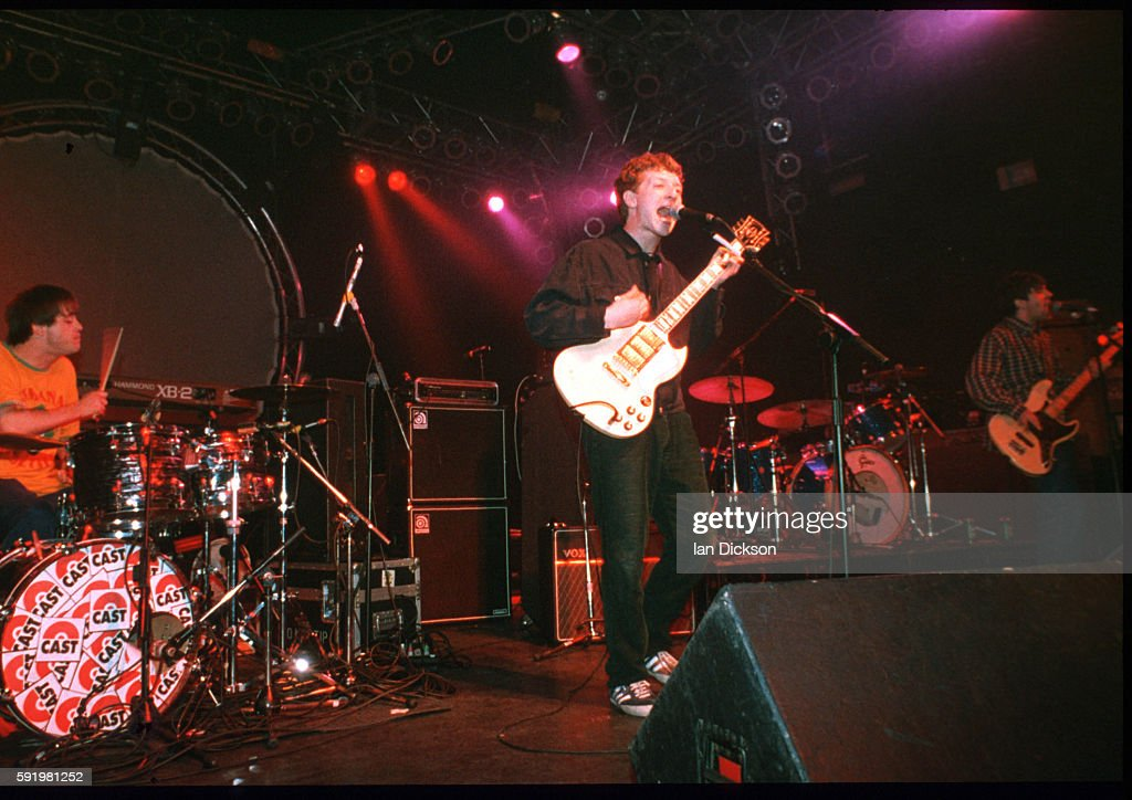 John Power of Cast performing on stage at The Forum Kentish Town London 23 March 1996