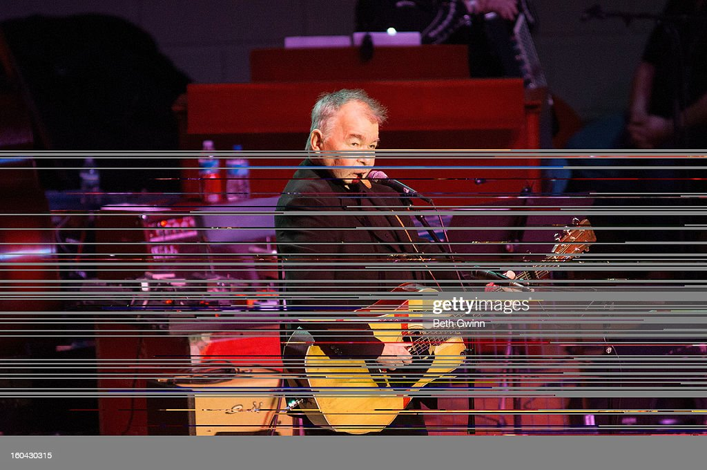 <a gi-track='captionPersonalityLinkClicked' href=/galleries/search?phrase=John+Prine&family=editorial&specificpeople=622427 ng-click='$event.stopPropagation()'>John Prine</a> performs during the Tribute to Cowboy Jack Clement at War Memorial Auditorium on January 30, 2013 in Nashville, Tennessee.