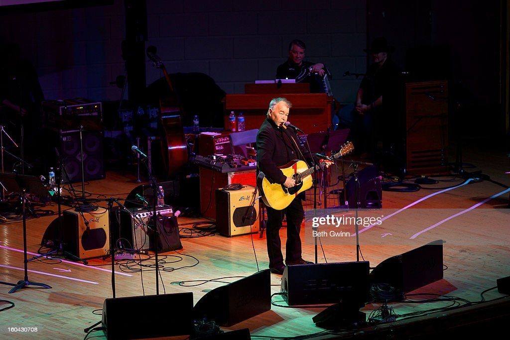 John Prine performs during the Tribute to Cowboy Jack Clement at War Memorial Auditorium on January 30, 2013 in Nashville, Tennessee.