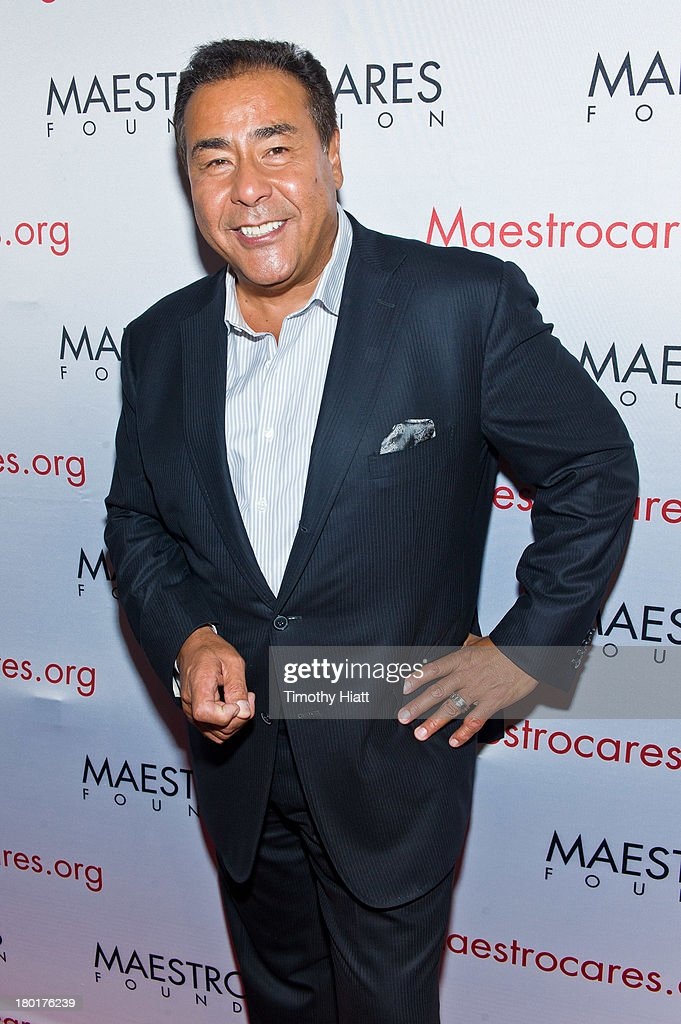 John Quinones attends 2nd Annual Maestro Cares Chicago Fundraiser at YBar on September 9 2013 in Chicago Illinois