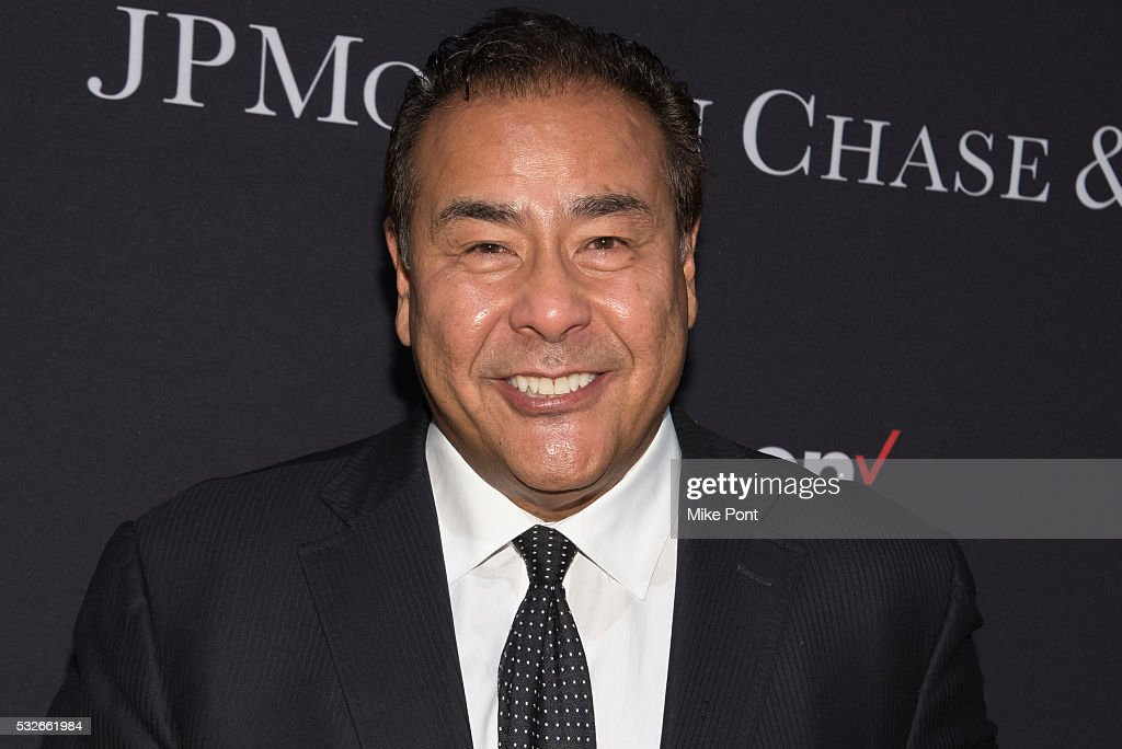 John Quinones attends the 2016 Paley Center for Media's Tribute To Hispanic Achievements In Television at Cipriani Wall Street on May 18 2016 in New...