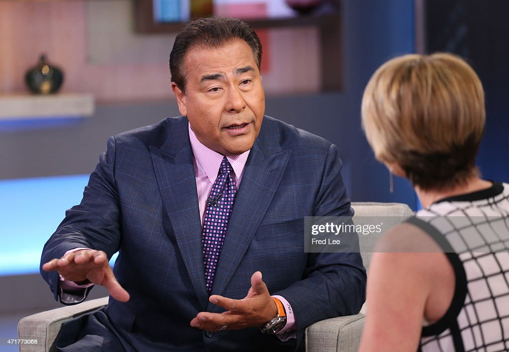 AMERICA John Quinones on 'Good Morning America' 4/27/15 airing on the ABC Television Network