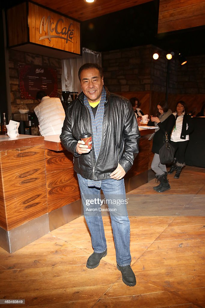 John Quiñones attends McDonald's McCafe Presents The Village At The Lift on January 17 2014 in Park City Utah