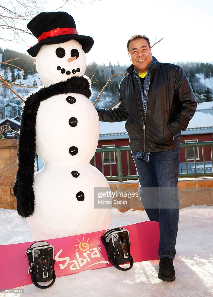John Quiñones attends The Sabra Grab 'N Go Cafe supporting Feeding America at Village at the Lift on January 18 2014 in Park City Utah
