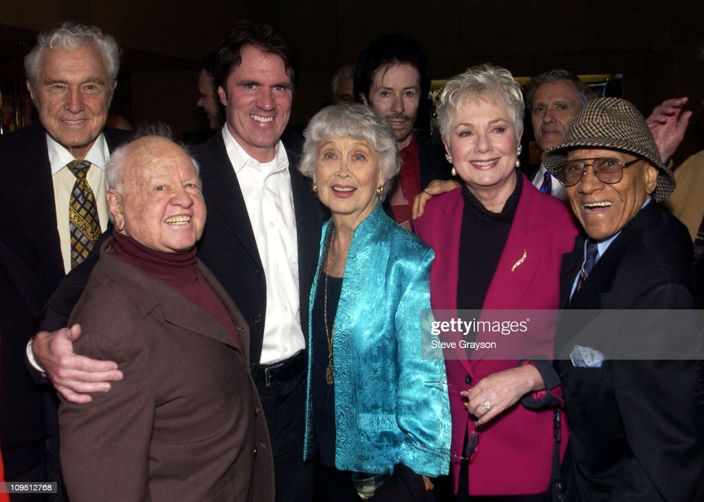 John Raitt Mickey Rooney director / choreographer Rob Marshall Shirley Jones and Fayard Nicholas and guests