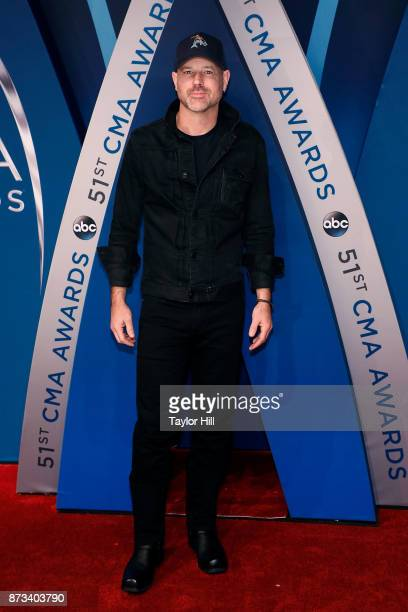 John Randall attends the 51st annual CMA Awards at the Bridgestone Arena on November 8 2017 in Nashville Tennessee