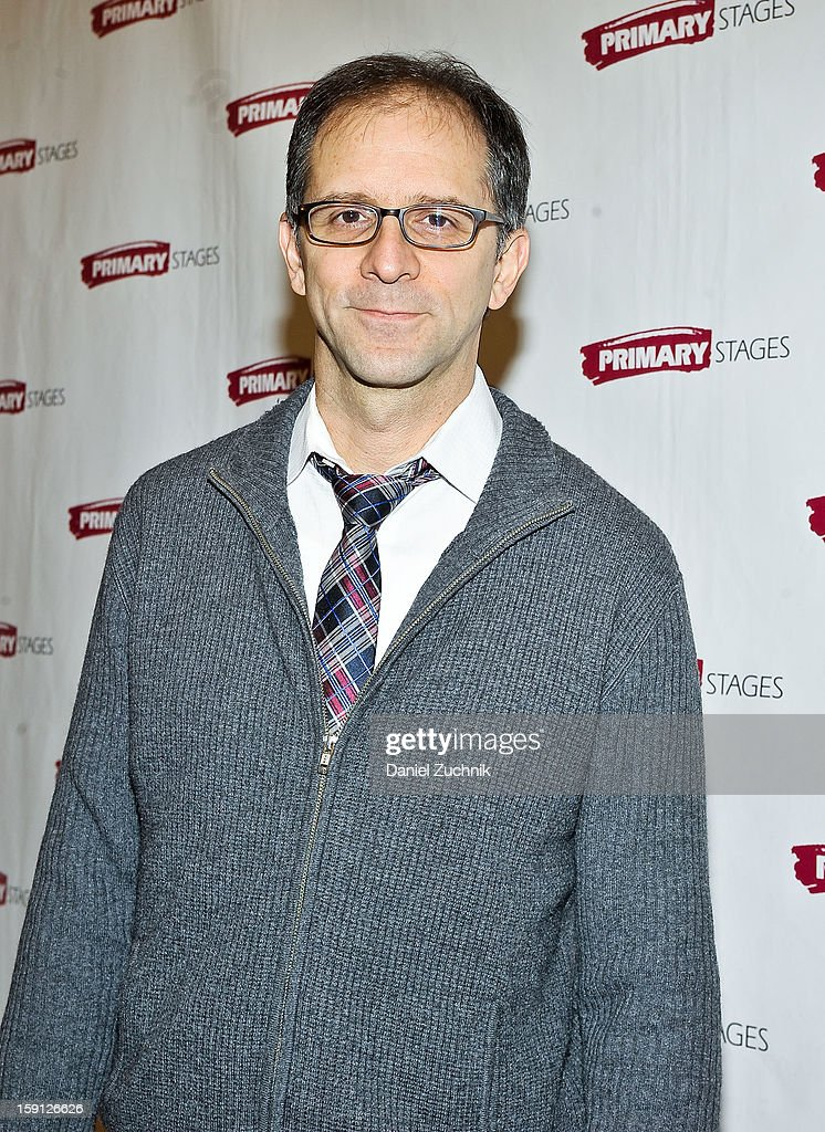 John Rando attends the 'All In The Timing' press preview at Primary Stages Rehearsal Studio on January 8, 2013 in New York City.
