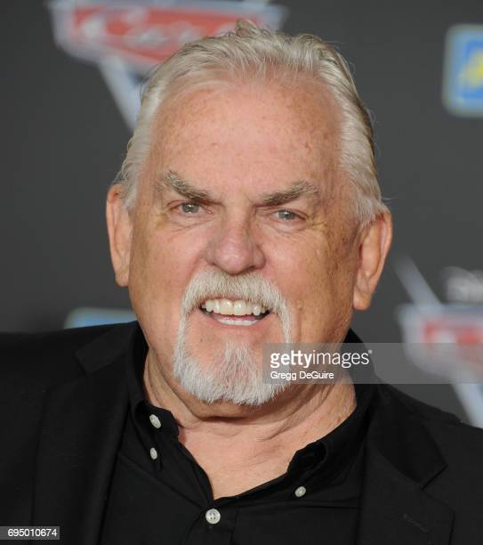 John Ratzenberger arrives at the premiere of Disney And Pixar's 'Cars 3' at Anaheim Convention Center on June 10 2017 in Anaheim California