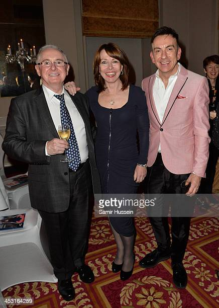 John Reid Kay Burley and Paul Roseby attend National Youth Theatre Annual Christmas Fundraiser at the Bloomsbury Hotel on December 2 2013 in London...