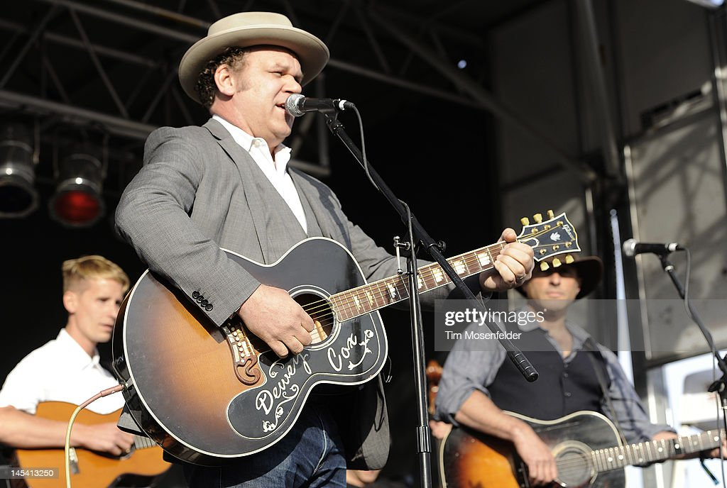 John Reilly and Dan Bern of John Reilly and Friends perform as part of Day 4 of the Sasquatch Music Festival at the Gorge Amphitheatre on May 28 2012...