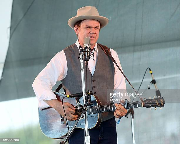 John Reilly performs during the 2014 Newport Folk Festival at Fort Adams State Park on July 26 2014 in Newport Rhode Island