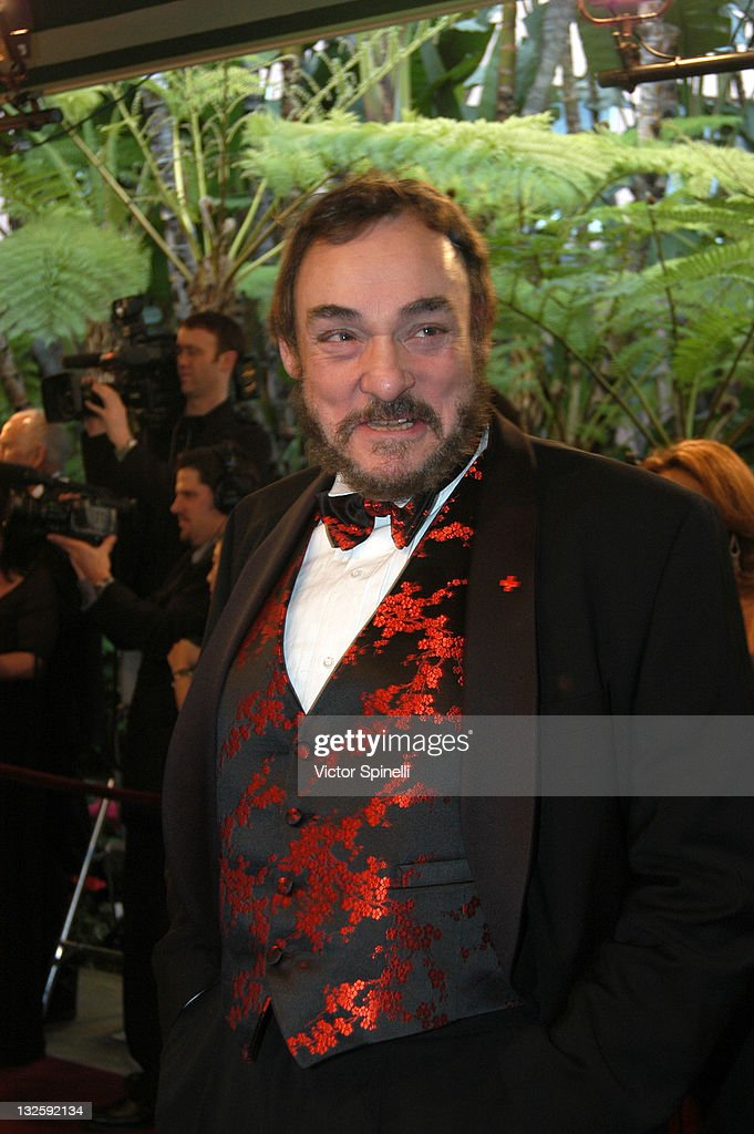 <a gi-track='captionPersonalityLinkClicked' href=/galleries/search?phrase=John+Rhys-Davies&family=editorial&specificpeople=240483 ng-click='$event.stopPropagation()'>John Rhys-Davies</a> during 14th Annual Night of 100 Stars Oscar Gala at Beverly Hills Hotel in Beverly Hills, California, United States.