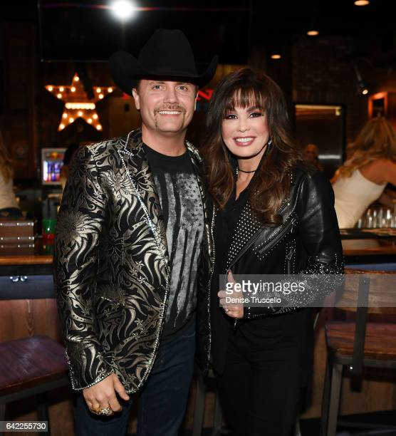 John Rich and Marie Osmond attend the Redneck Riveria VIP grand opening hosted by John Rich and friends on February 16 2017 in Las Vegas Nevada