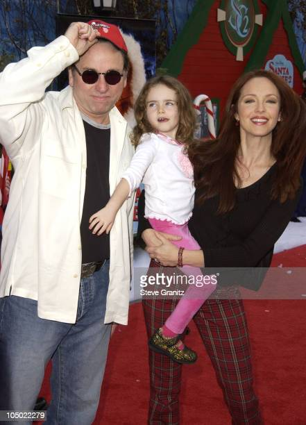 John Ritter Amy Yasbeck during 'The Santa Clause 2' Premiere at El Capitan Theatre in Hollywood California United States