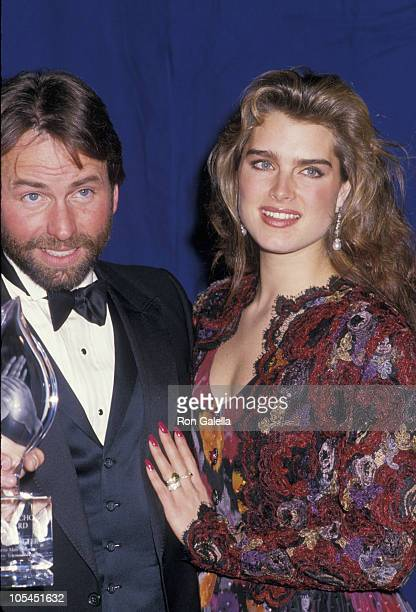 John Ritter and Brooke Shields during 14th Annual People's Choice Awards at 20th Century Fox Studios in Los Angeles California United States