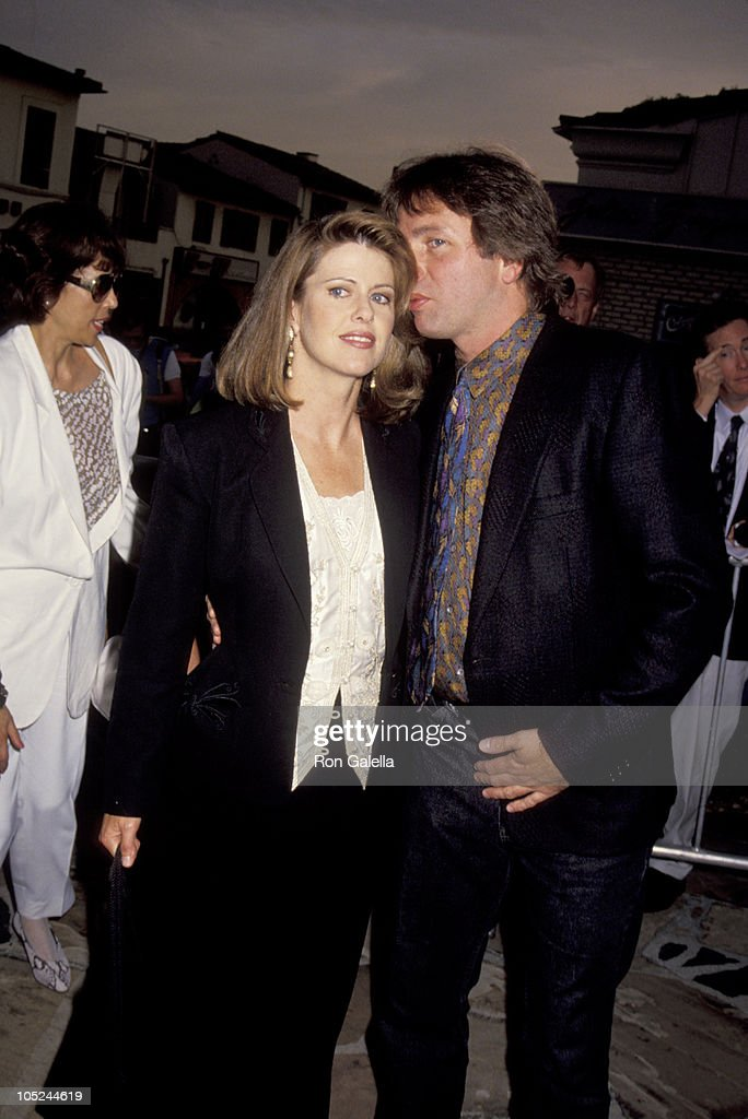 John Ritter Pam Dawber during 'Stay Tuned' Hollywood Screening August 13 1992 at Mann's Village Theatre in Westwood California United States