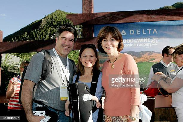 John Robinson Andrea Robinson Master Sommelier of Delta Air Lines and JoAnne Smith Senior Vice President of Marketing at Delta Air Lines