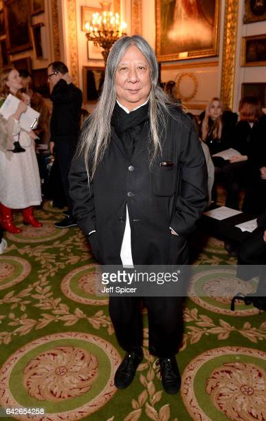 John Rocha attends the Simone Rocha show during the London Fashion Week February 2017 collections on February 18 2017 in London England