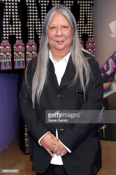 John Rocha attends the World of Anna Sui Exhibition Private View at the Fashion and Textile Museum on May 25 2017 in London England